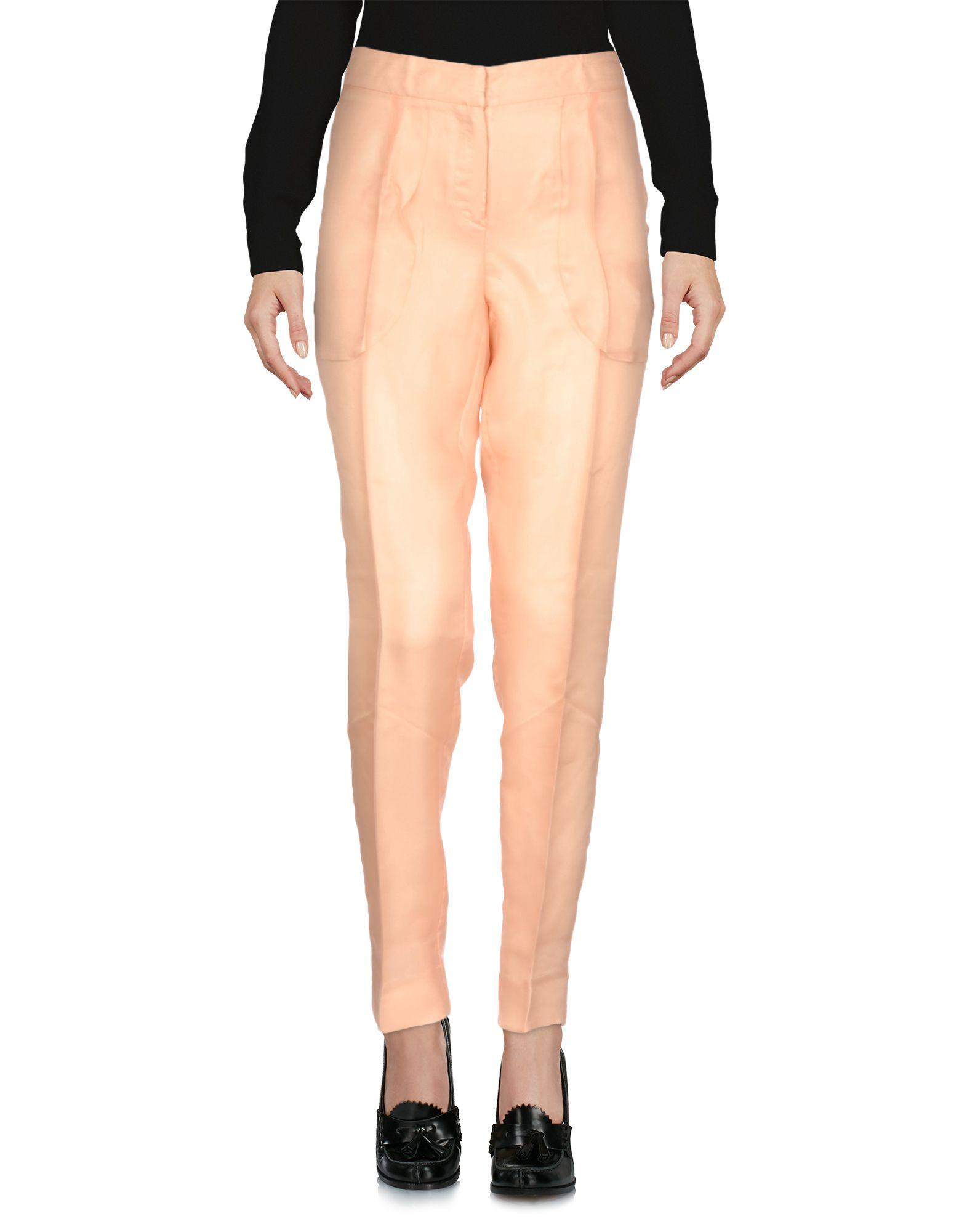 Moschino Cheap And Chic Casual Pants In Apricot