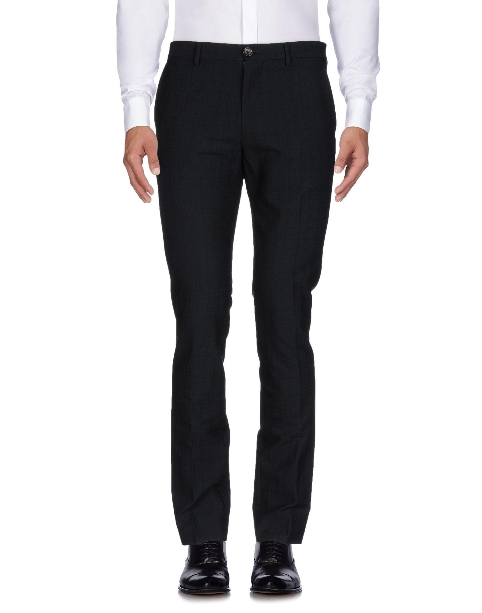 Ps By Paul Smith Casual Pants In Black