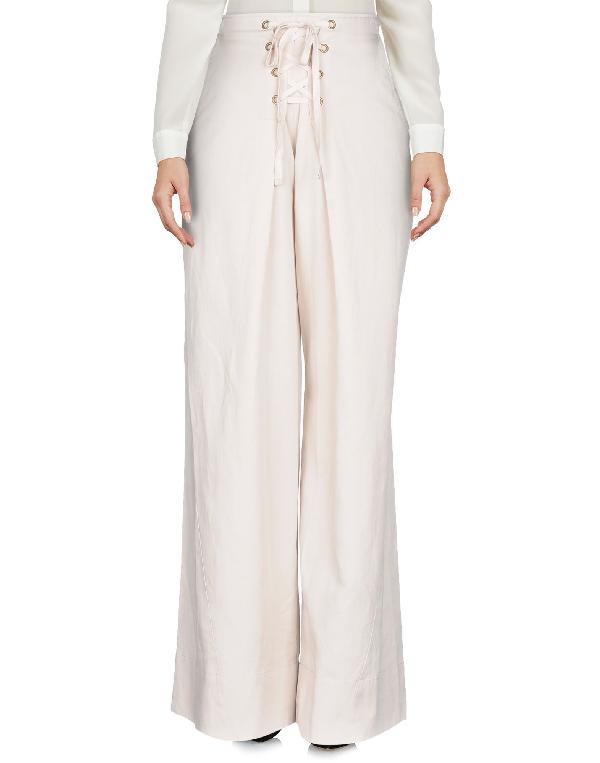 Ulla Johnson Ayana Paperbag Pants In Light Grey