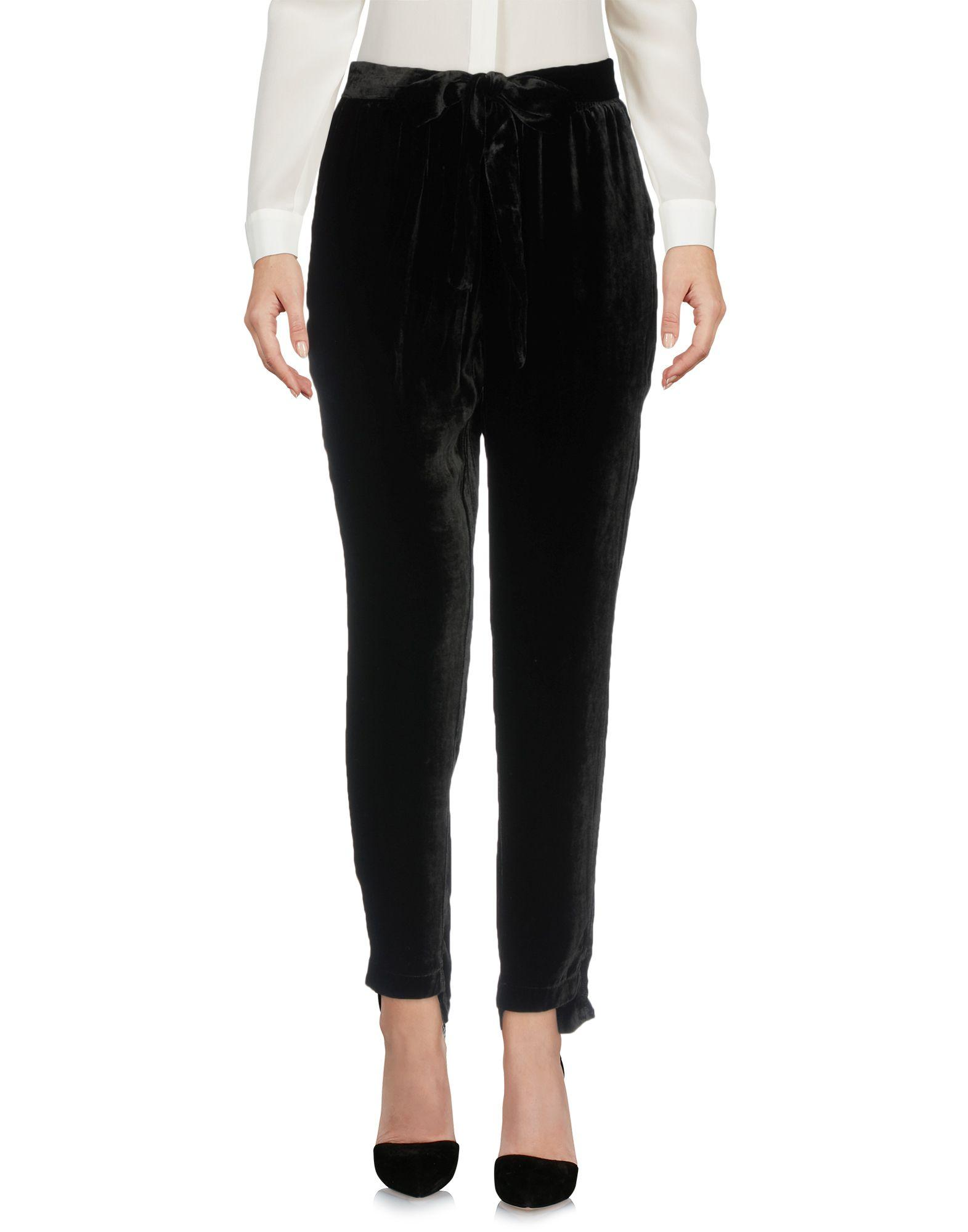 Gold Hawk Casual Pants In Black
