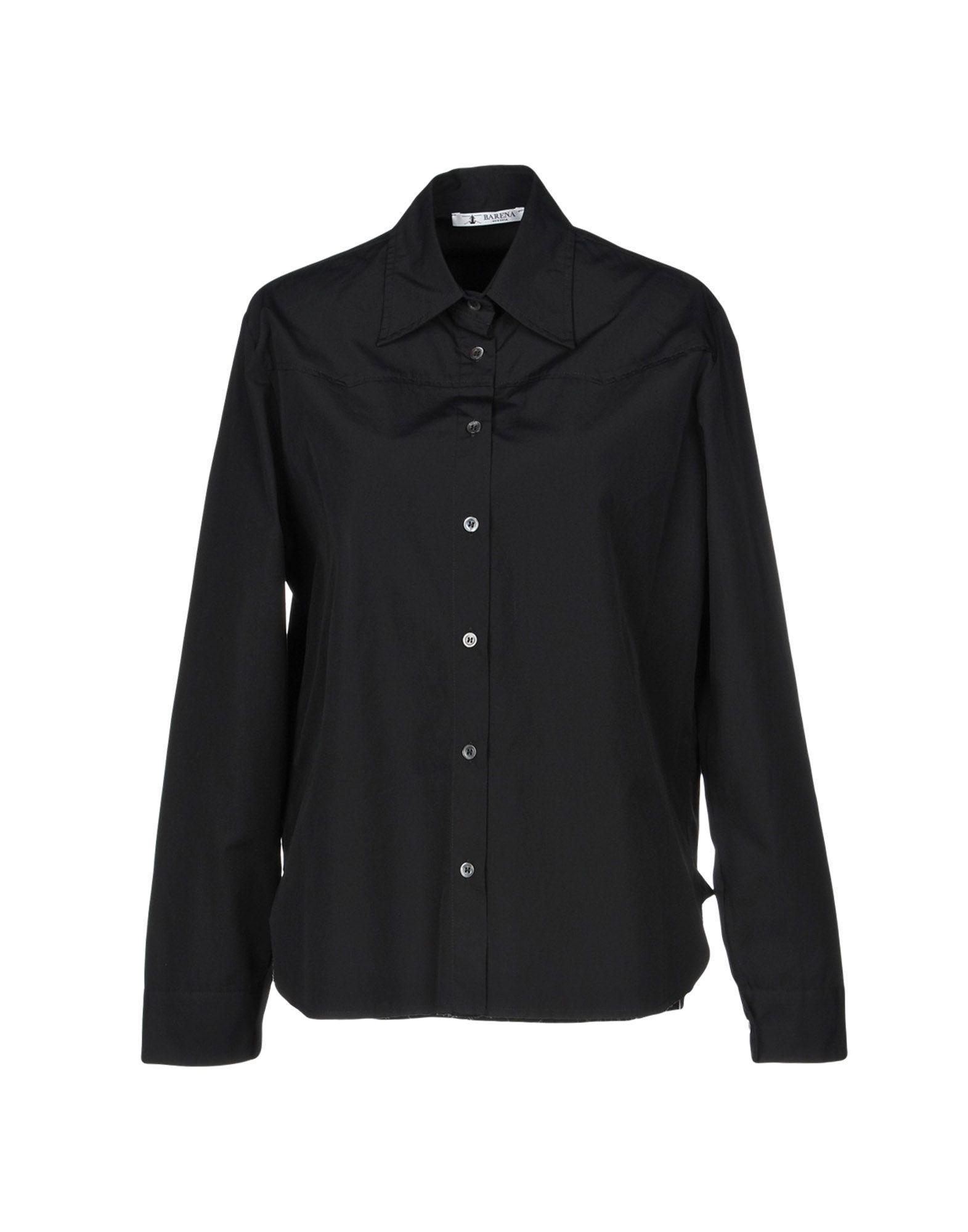 Barena Venezia Solid Color Shirts & Blouses In Black