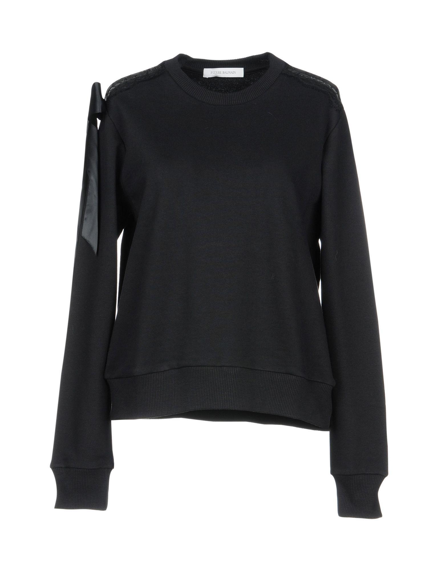 Pierre Balmain Sweatshirts In Black