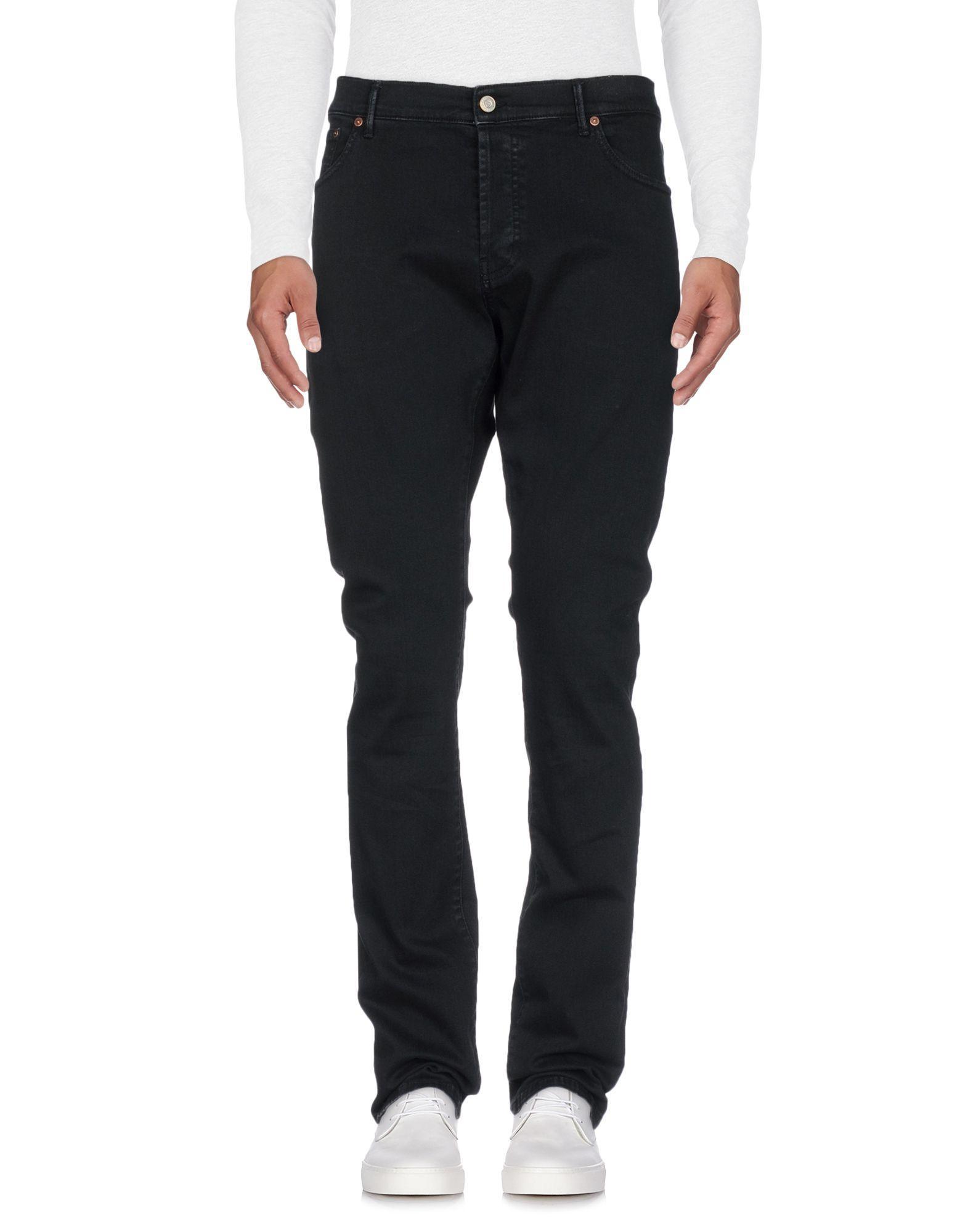 Htc Denim Pants In Black