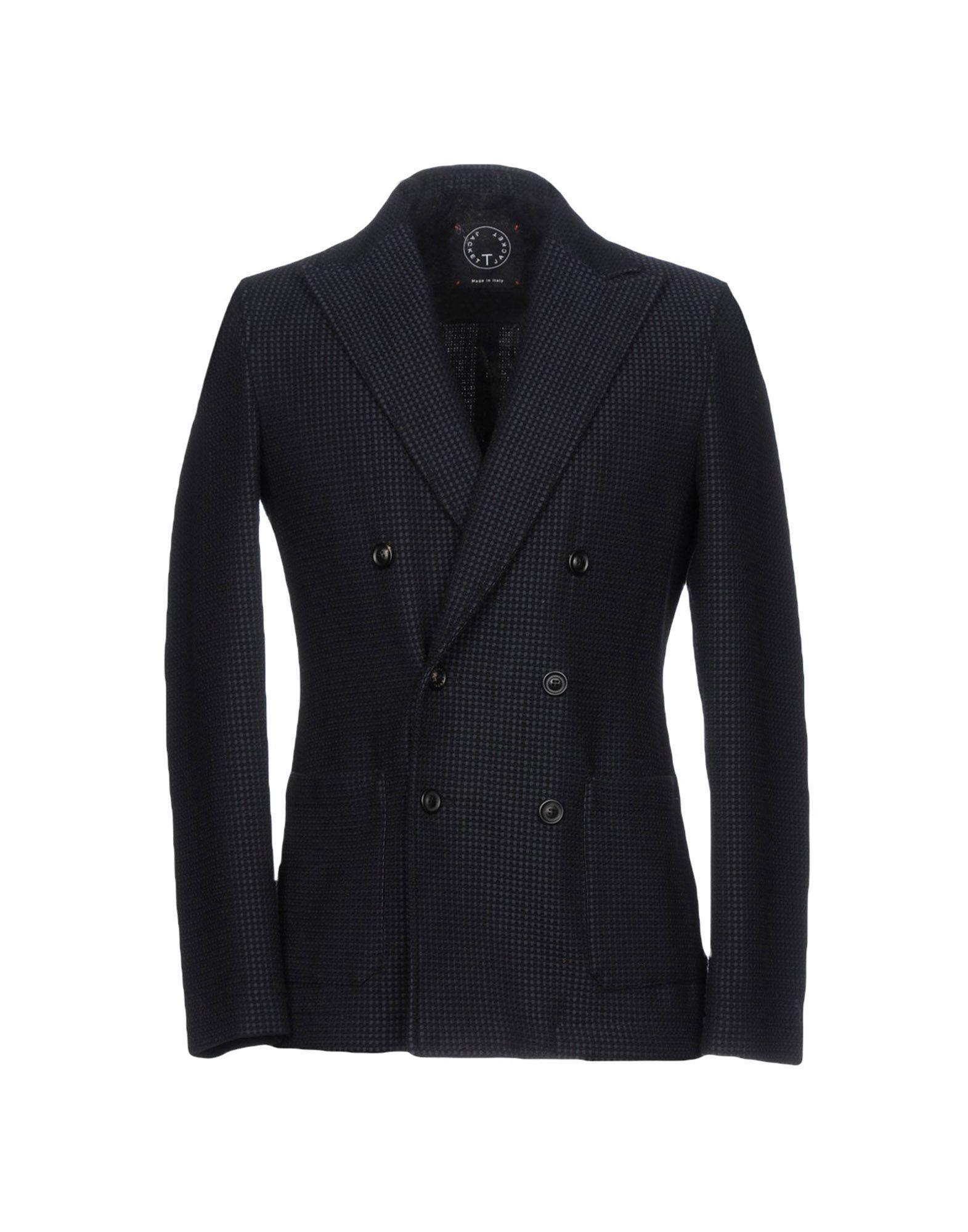 T-jacket Suit Jackets In Dark Blue