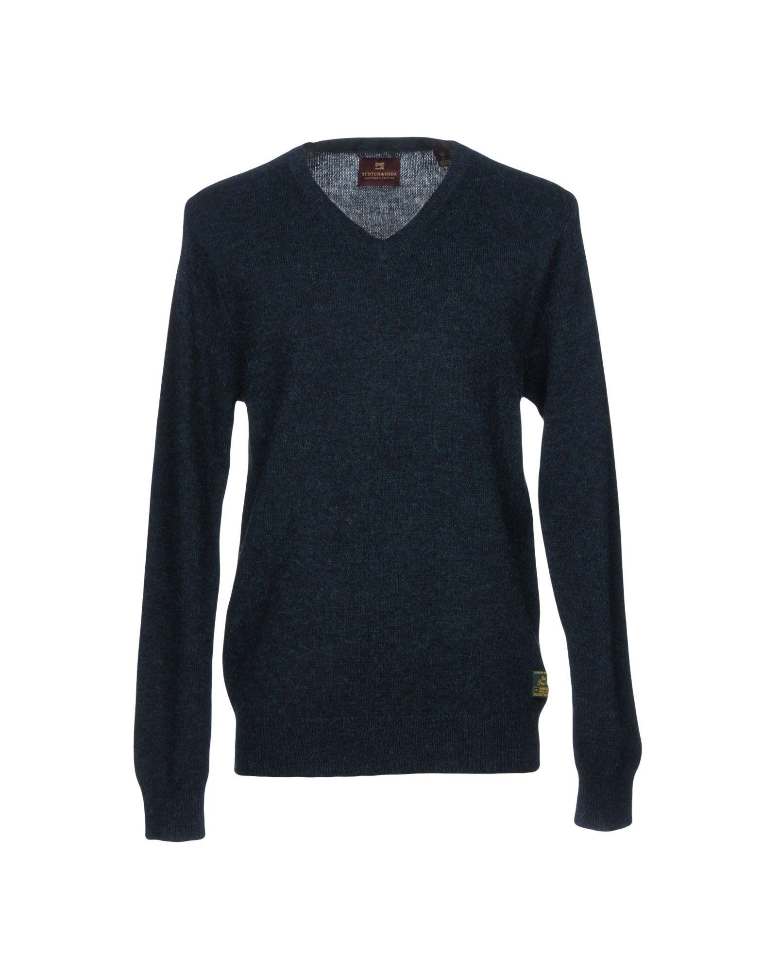 Scotch & Soda Sweater In Deep Jade