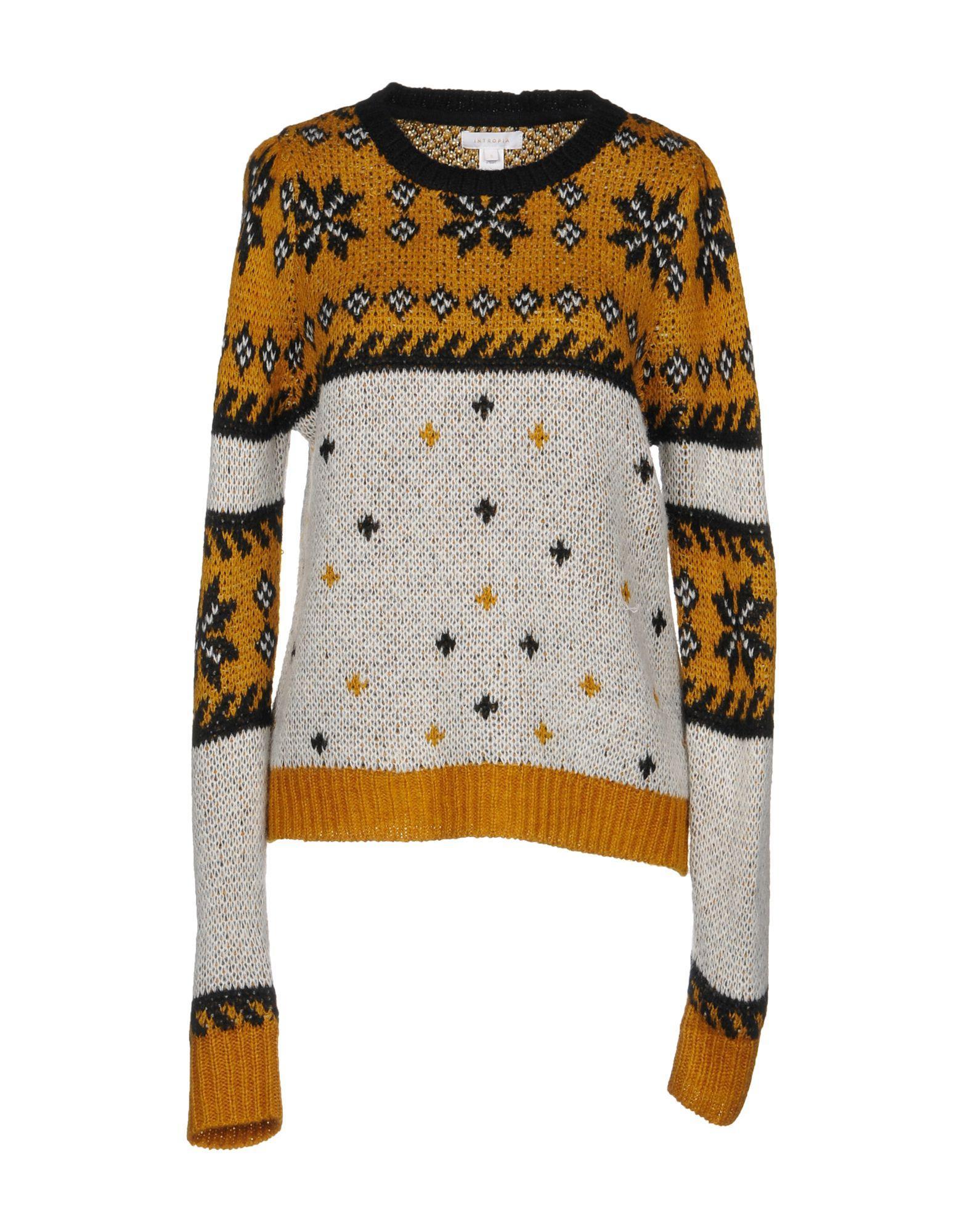 Intropia Sweater In Camel
