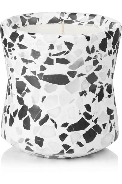 Tom Dixon Terrazzo Large Scented Candle, 540g In Colorless