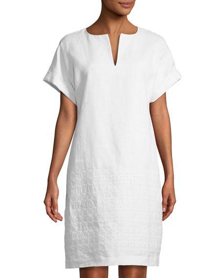 0113c7fadb Lafayette 148 New York dress in linen. Approx. 38