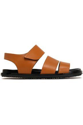 Marni Woman Leather Sandals Light Brown