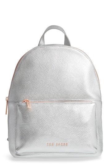 cf82f1206 Ted Baker Pearen Leather Backpack - White | ModeSens