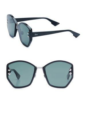 77bc31ab94fb Dior Addict 2 62Mm Geometric Sunglasses In Blue