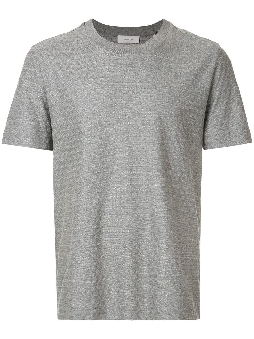 10f35b18f21a46 CERRUTI 1881. Cerruti 1881 T-Shirt Mit Geometrischem Muster ...