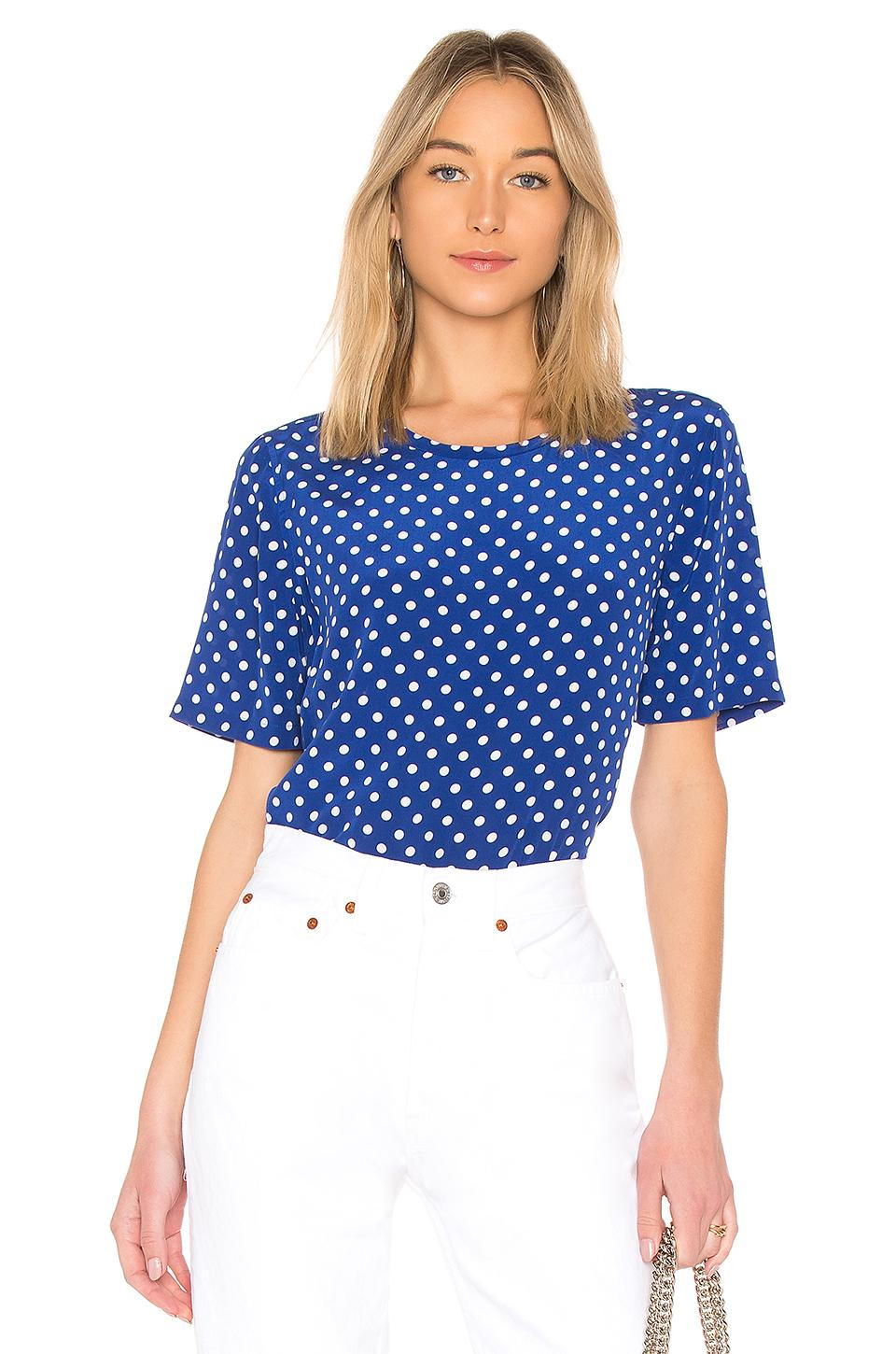 Equipment Brynn Top In Blue
