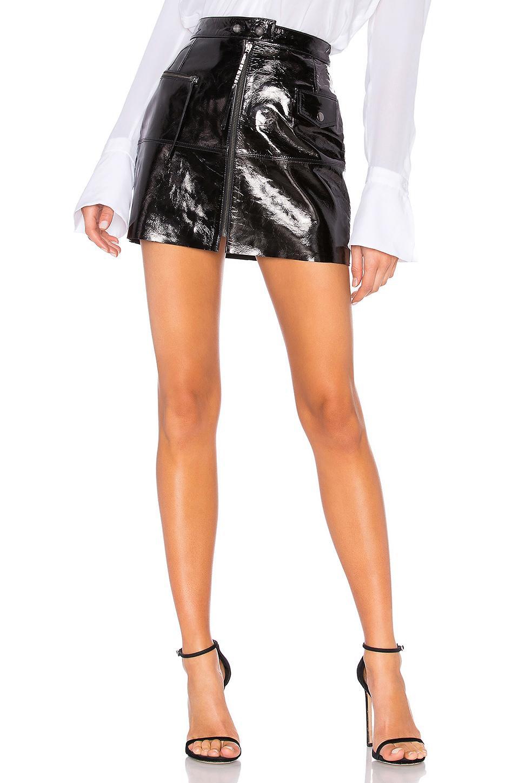 Aje Peggy Mini Skirt In Black