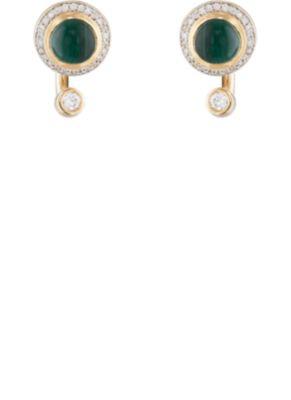 Pamela Love Gravitation Earring - Green