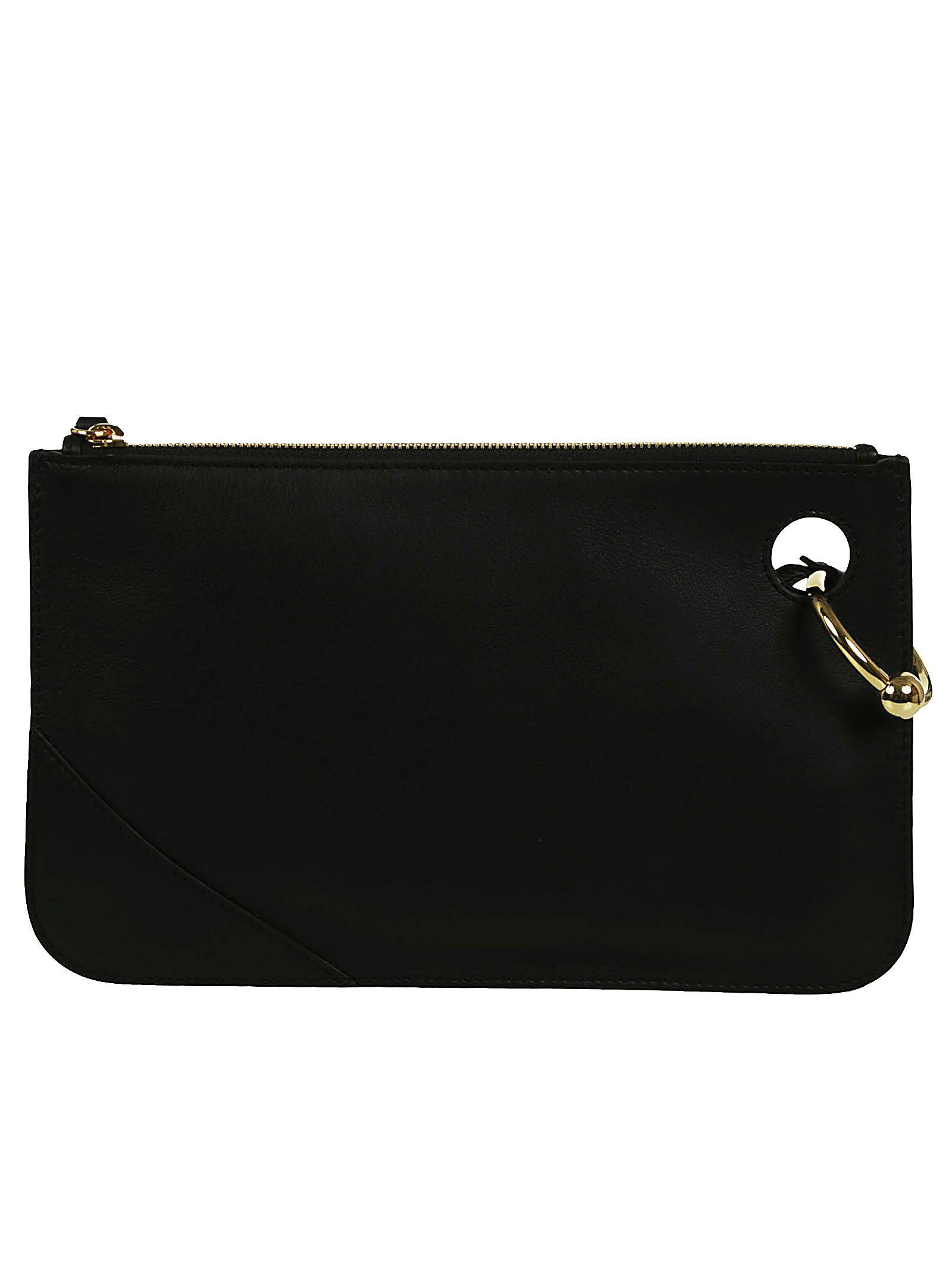 Jw Anderson J.W. Anderson J.W. Anderson Pierce Clutch In Black