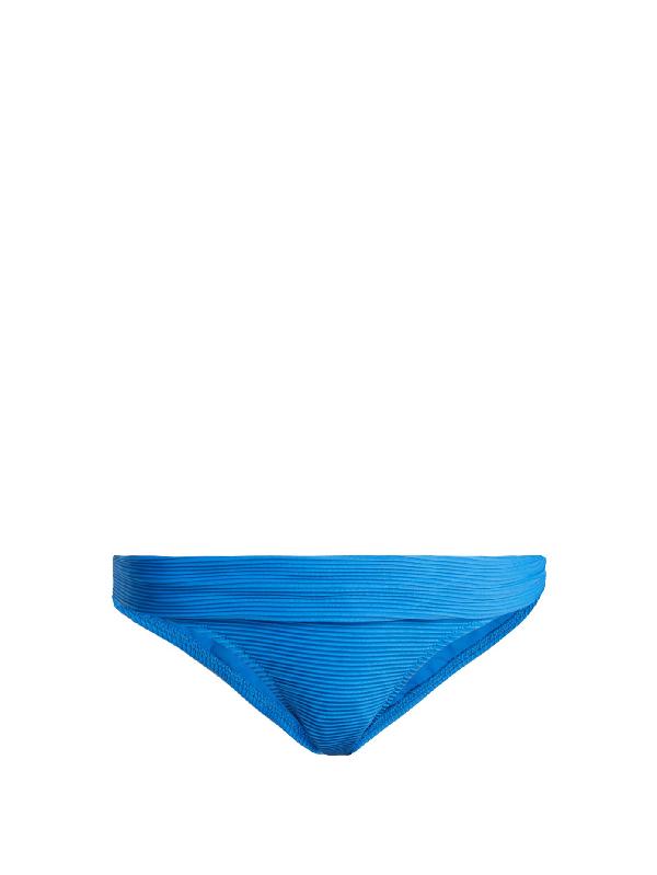Heidi Klein Muscat Bikini Briefs In Lagoon-blue