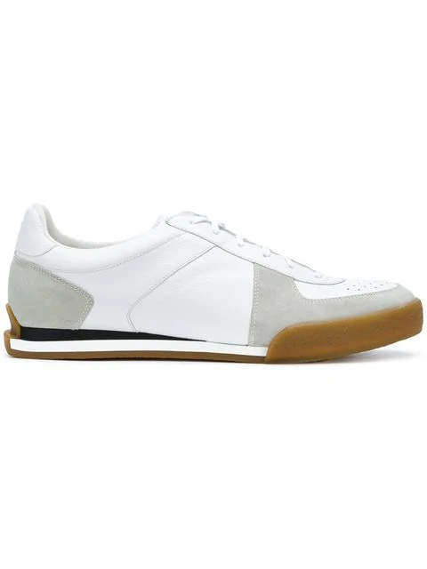 Givenchy White Leather Sneakers