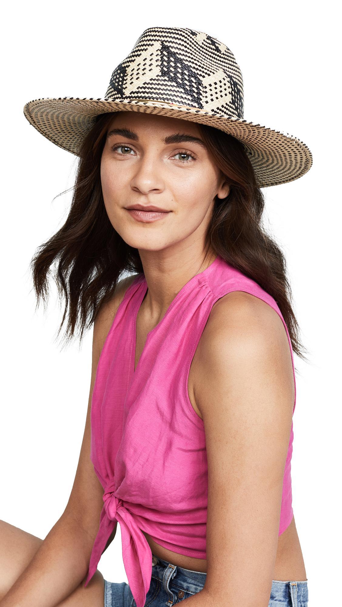 Yosuzi Arco Iris Hat In Brown Multi