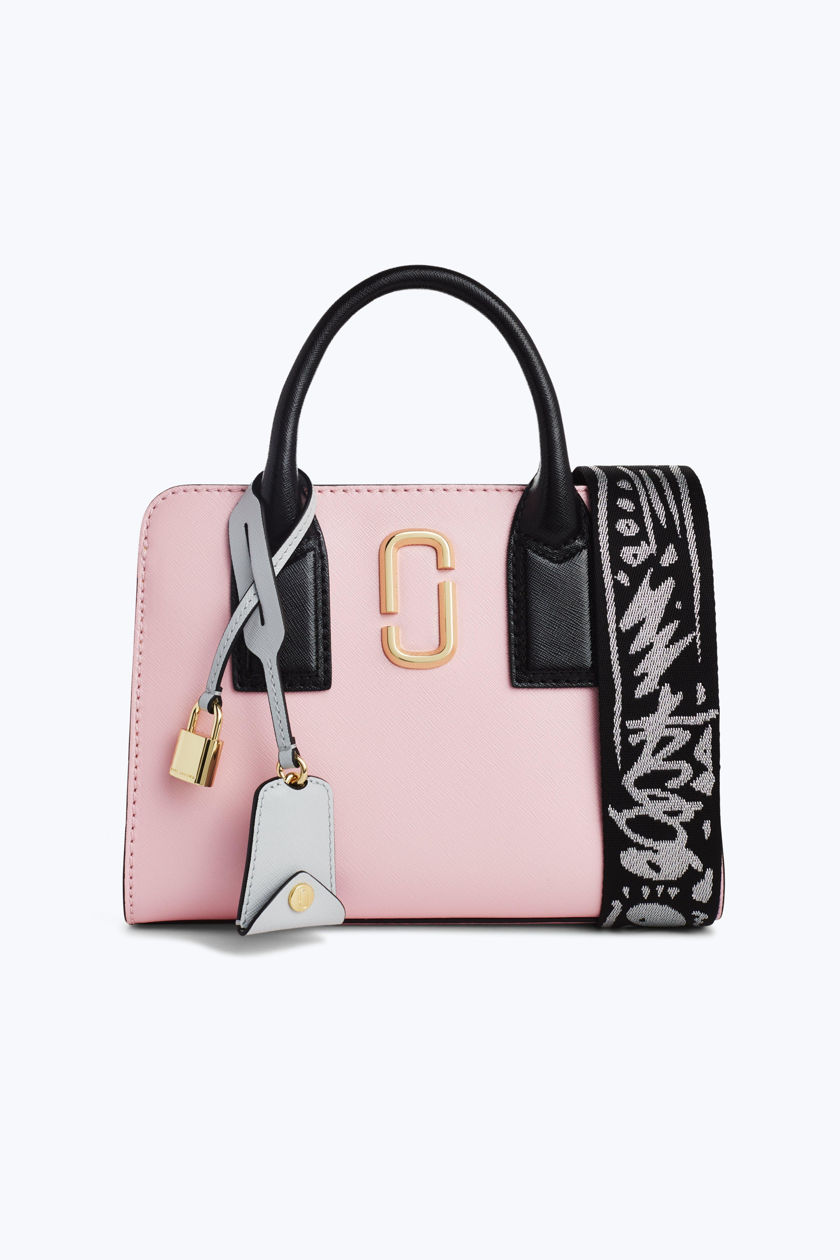Marc Jacobs Little Big Shot Leather Tote - Pink  98257241a6066