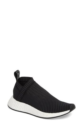 4ea1acaa0 ADIDAS ORIGINALS. Nmd Cs2 Primeknit Sneaker in Core Black  Carbon  Red