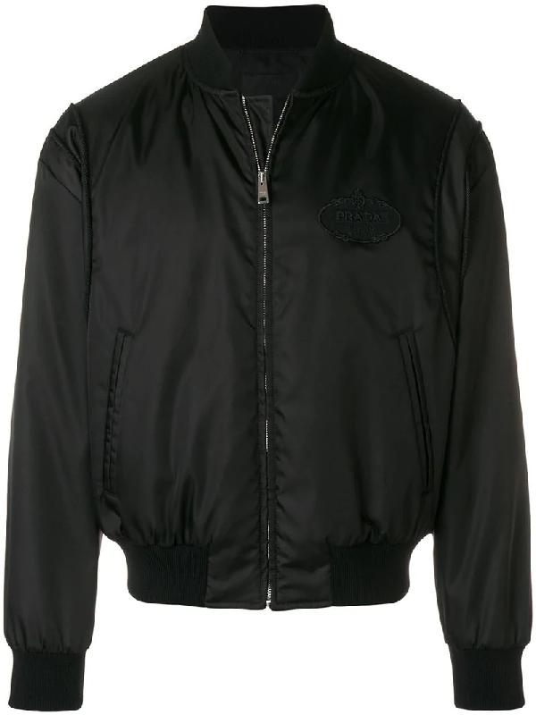 b9a228cc7 Men's Gabardine Bomber Jacket, Black