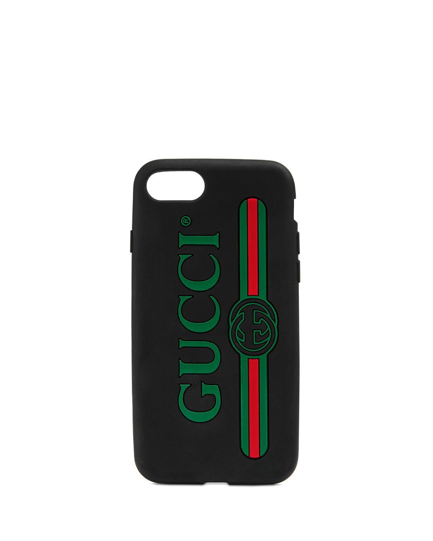 huge discount 18fca b7948 Print Rubber Iphone 7 Case in Black