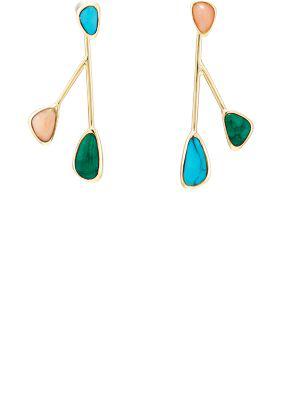 Pamela Love Pilar Drop Earrings In Multi