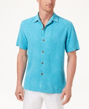 30c72818 Tommy Bahama Men's Luau Floral Shirt In Pool Party Blue | ModeSens