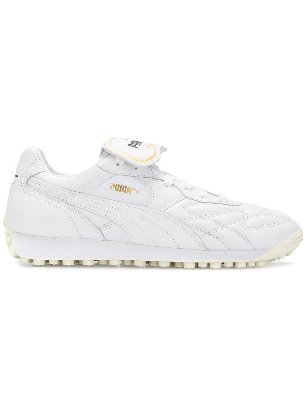 Puma King Avanti Bold Tongue Sneakers - White