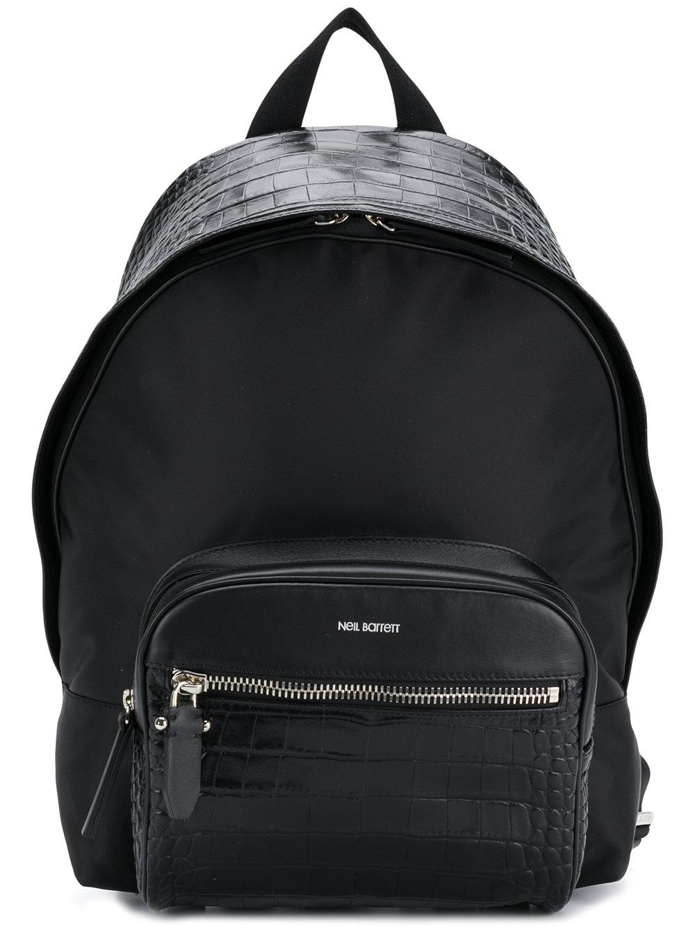 f689aaa132 Neil Barrett Lizard Skin Effect Backpack