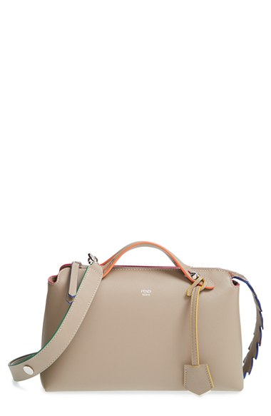 bc2108038a Fendi  Small By The Way - Croc-Tail  Convertible Leather Shoulder Bag In