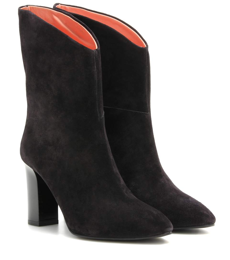 f2922e0c0cc Acne Studios Ava Suede Ankle Boots In Llack | ModeSens