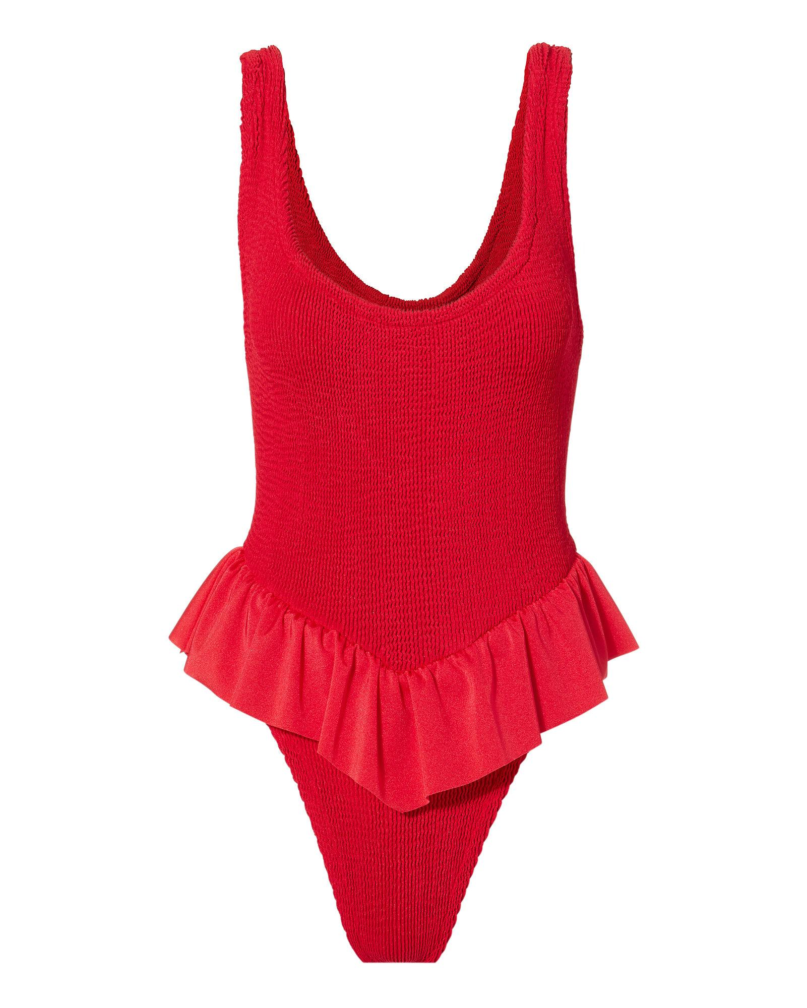733092fee47 Hunza G Denise Red One Piece Swimsuit | ModeSens