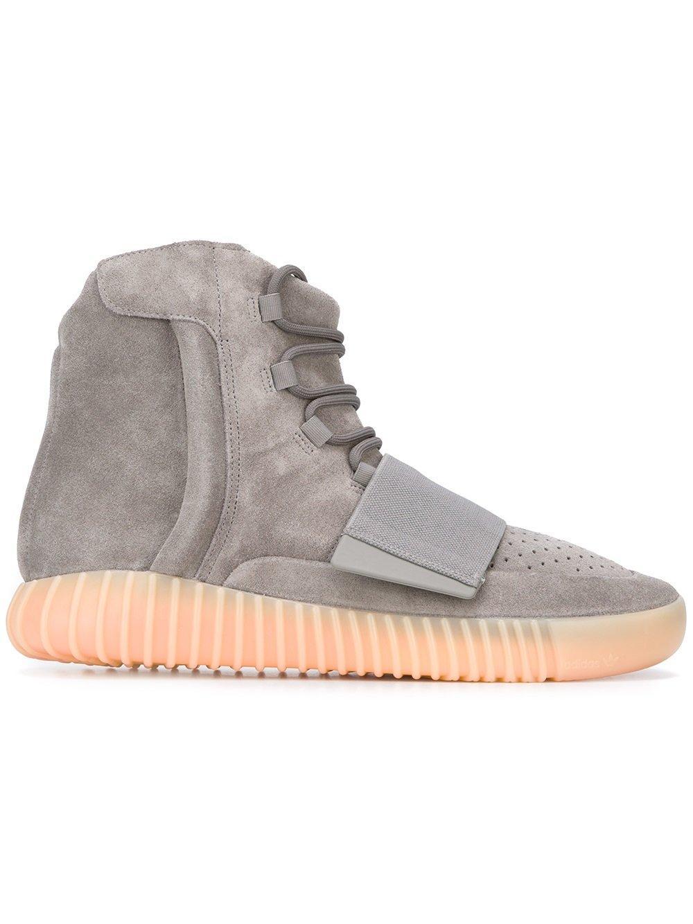 ee97a44b9 Yeezy Adidas High-Top-Sneakers - Grau In Grey