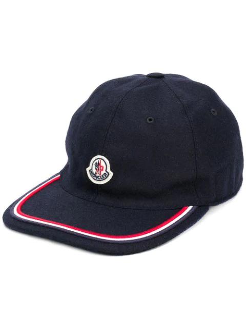 8a749ec06 Berretto Wool Ball Cap - Blue