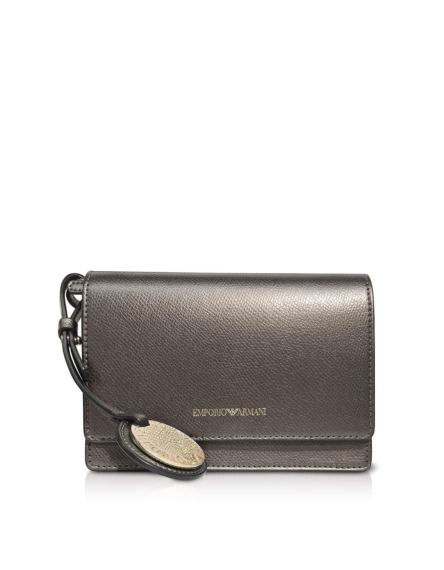 158d0d8c5c Lizard Embossed Leather Mini Shoulder Bag in Bronze