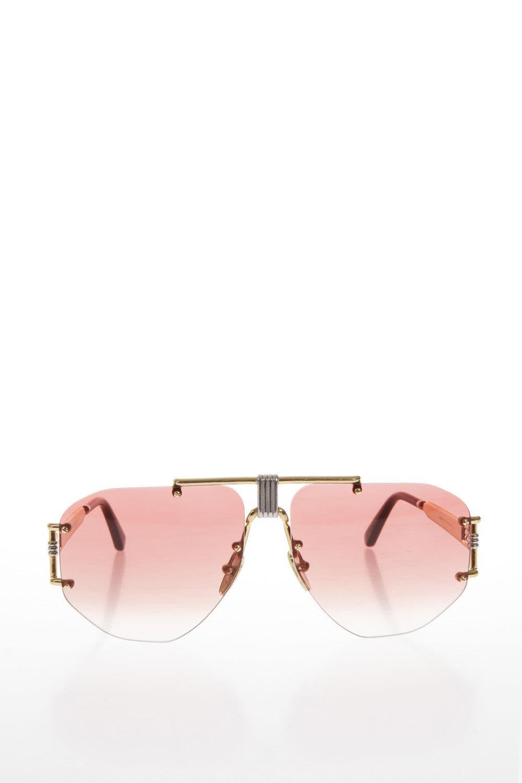 85aae5ea2de Celine Pink DÉGradÉ Aviator Sunglasses In Fragola