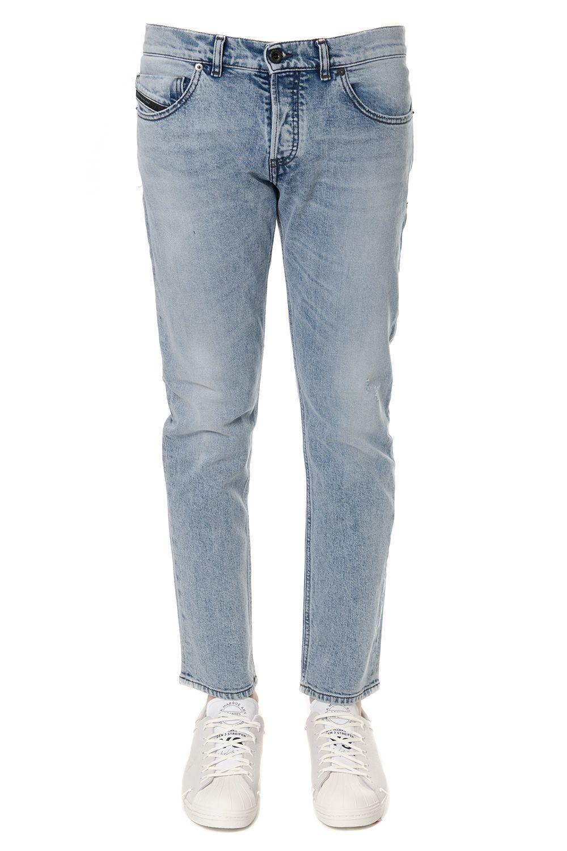 Diesel Black Gold Type Cotton Denim Jeans