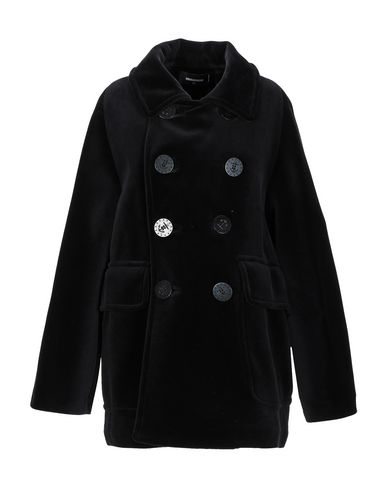 Dsquared2 Coat In Black