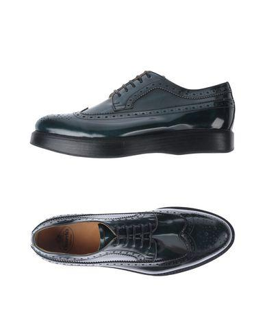 Church's Lace-Up Shoes In Dark Green