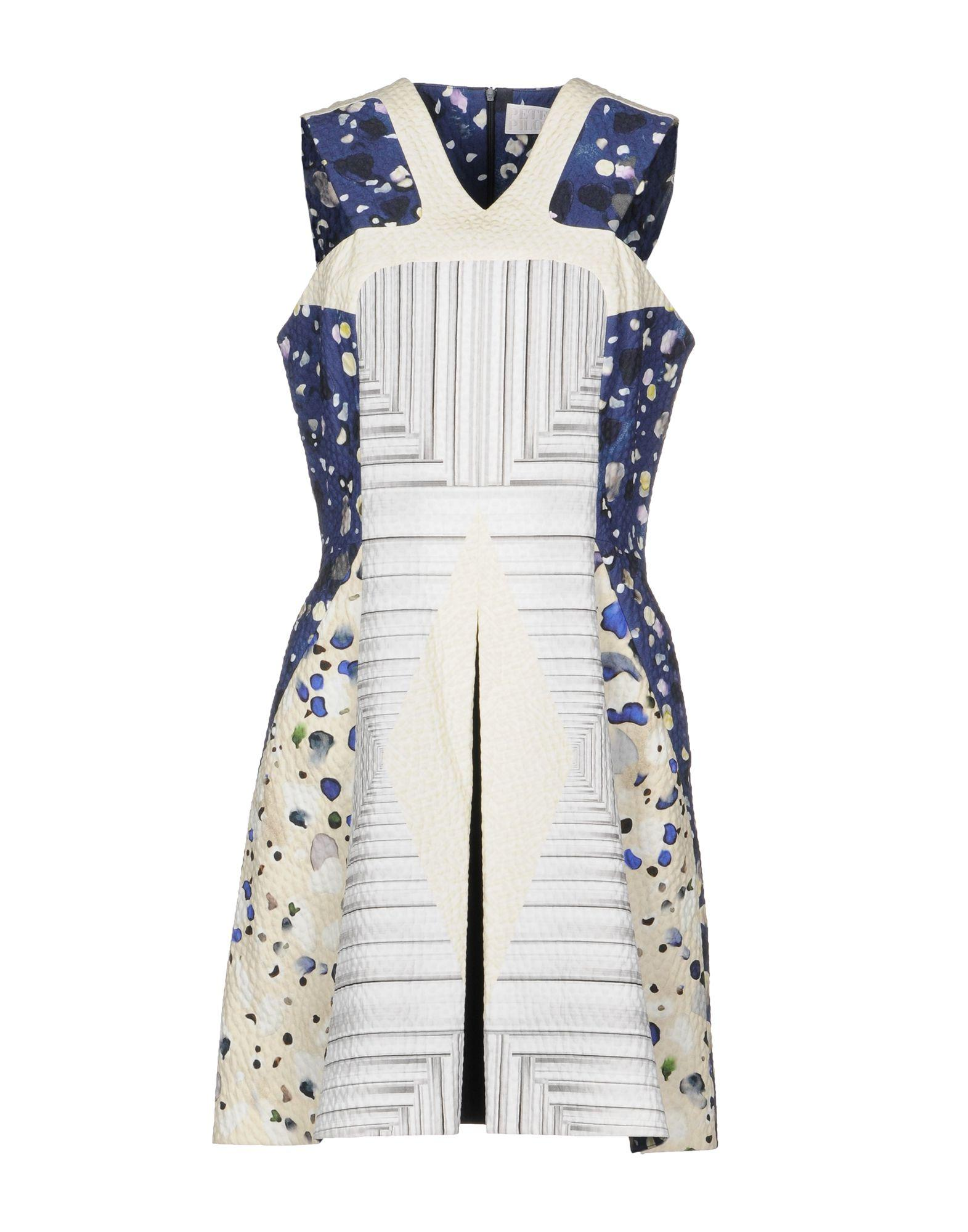 Peter Pilotto Short Dresses In White