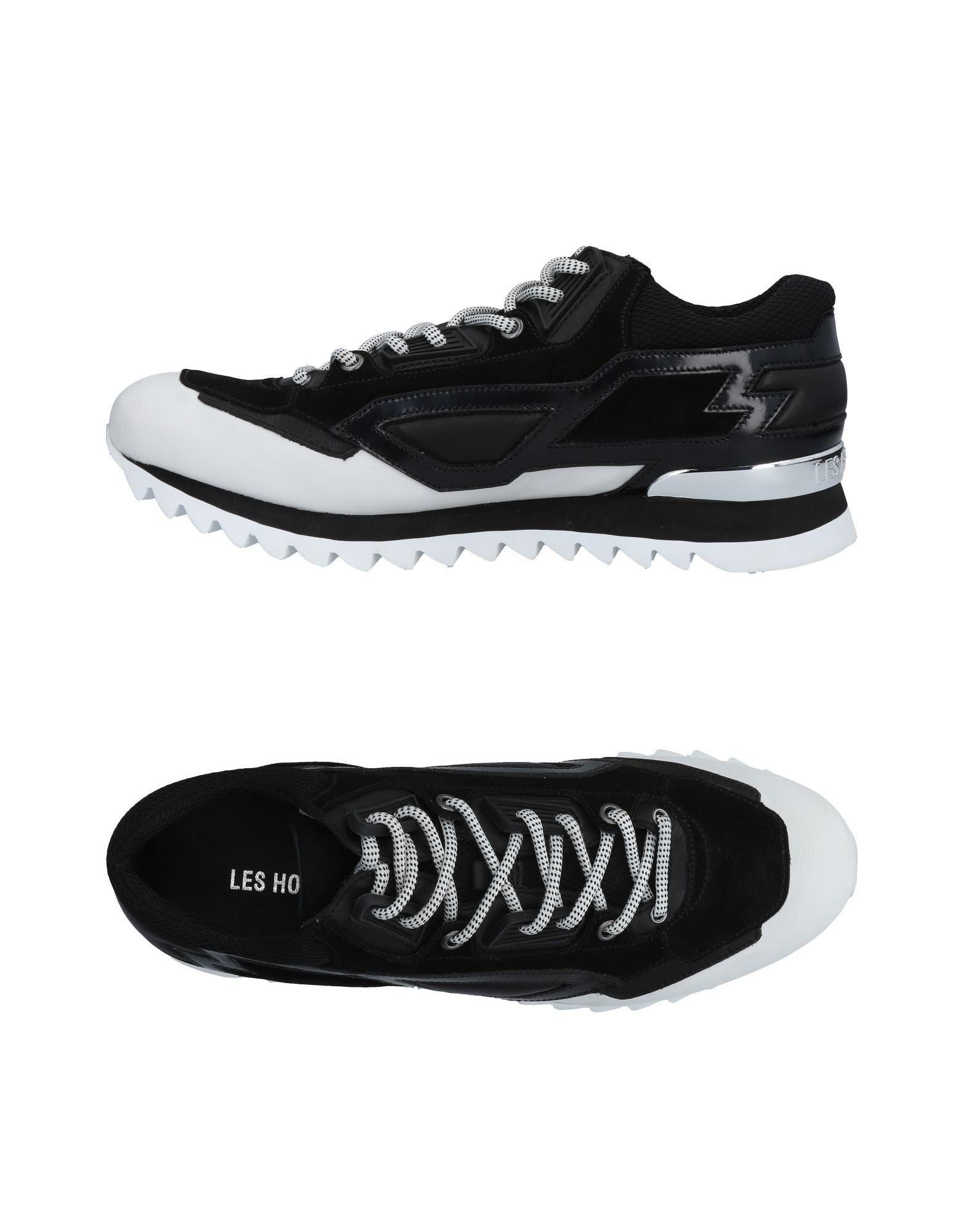 Les Hommes Sneakers In White