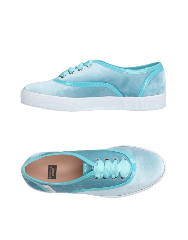 Boutique Moschino Sneakers In Turquoise