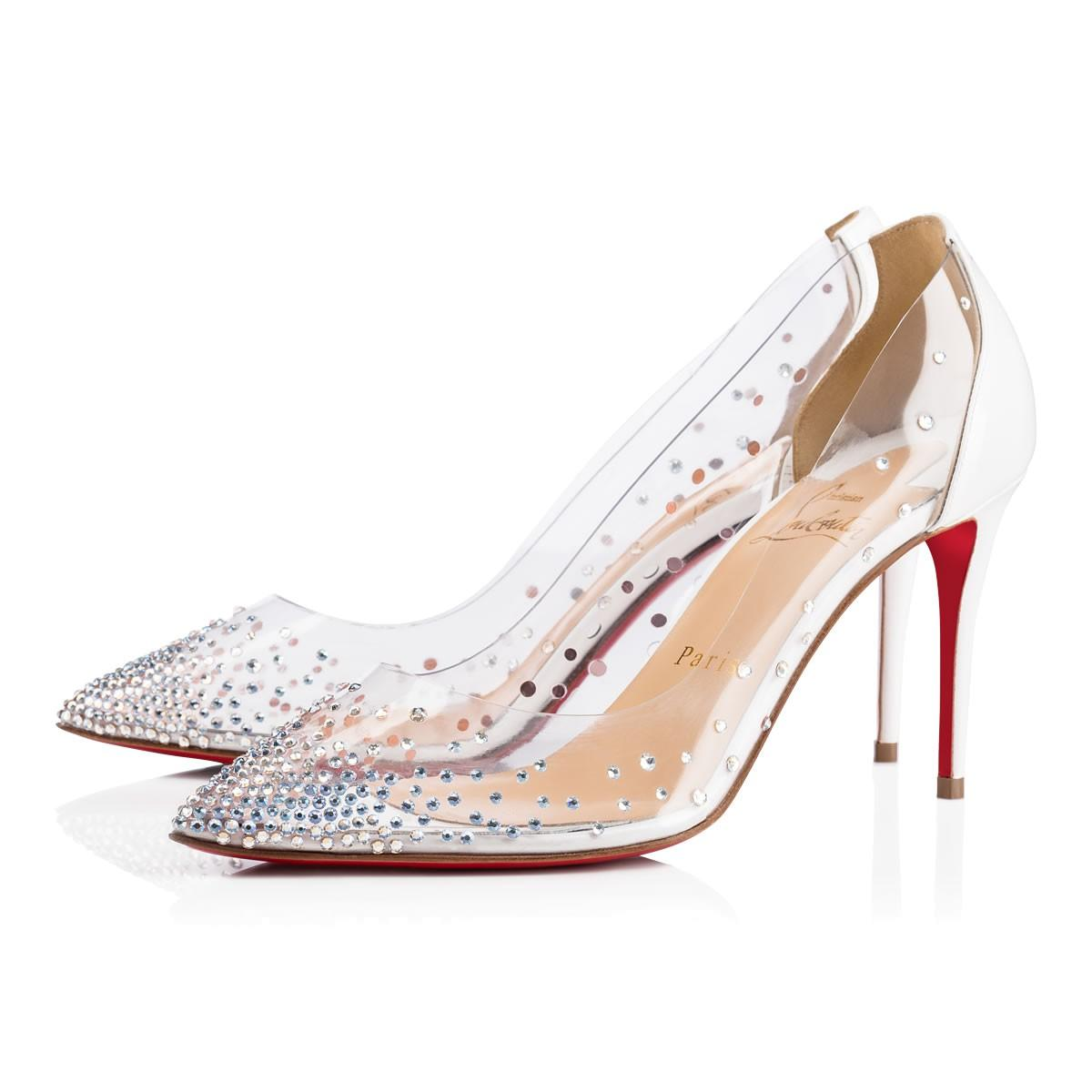 124c7972aab4 Christian Louboutin Degrastrass Pvc In Version Latte