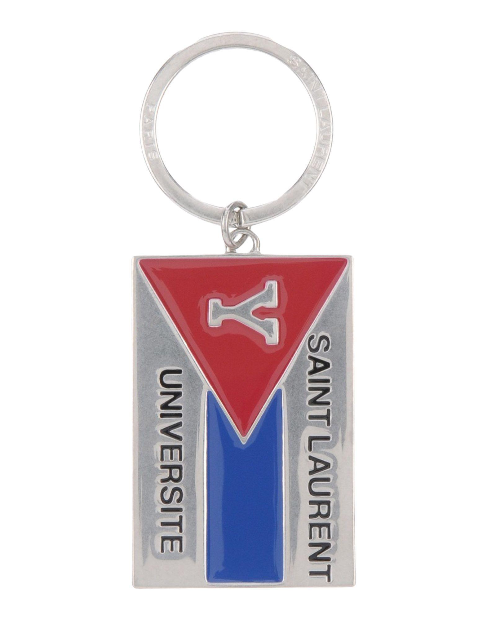 c1de0e4a6df Saint Laurent Key Rings In Silver | ModeSens