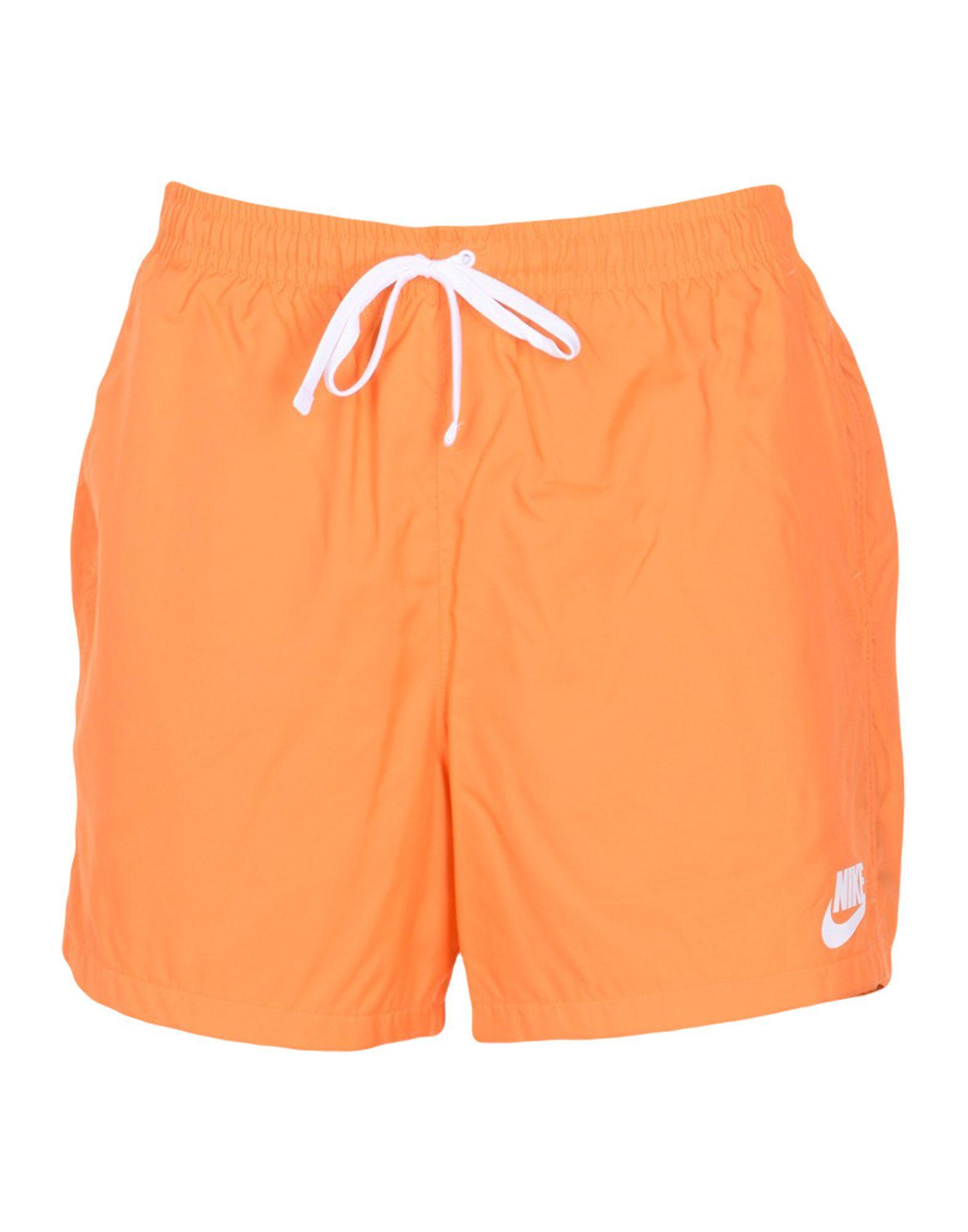 Nike Swim Trunks In Orange