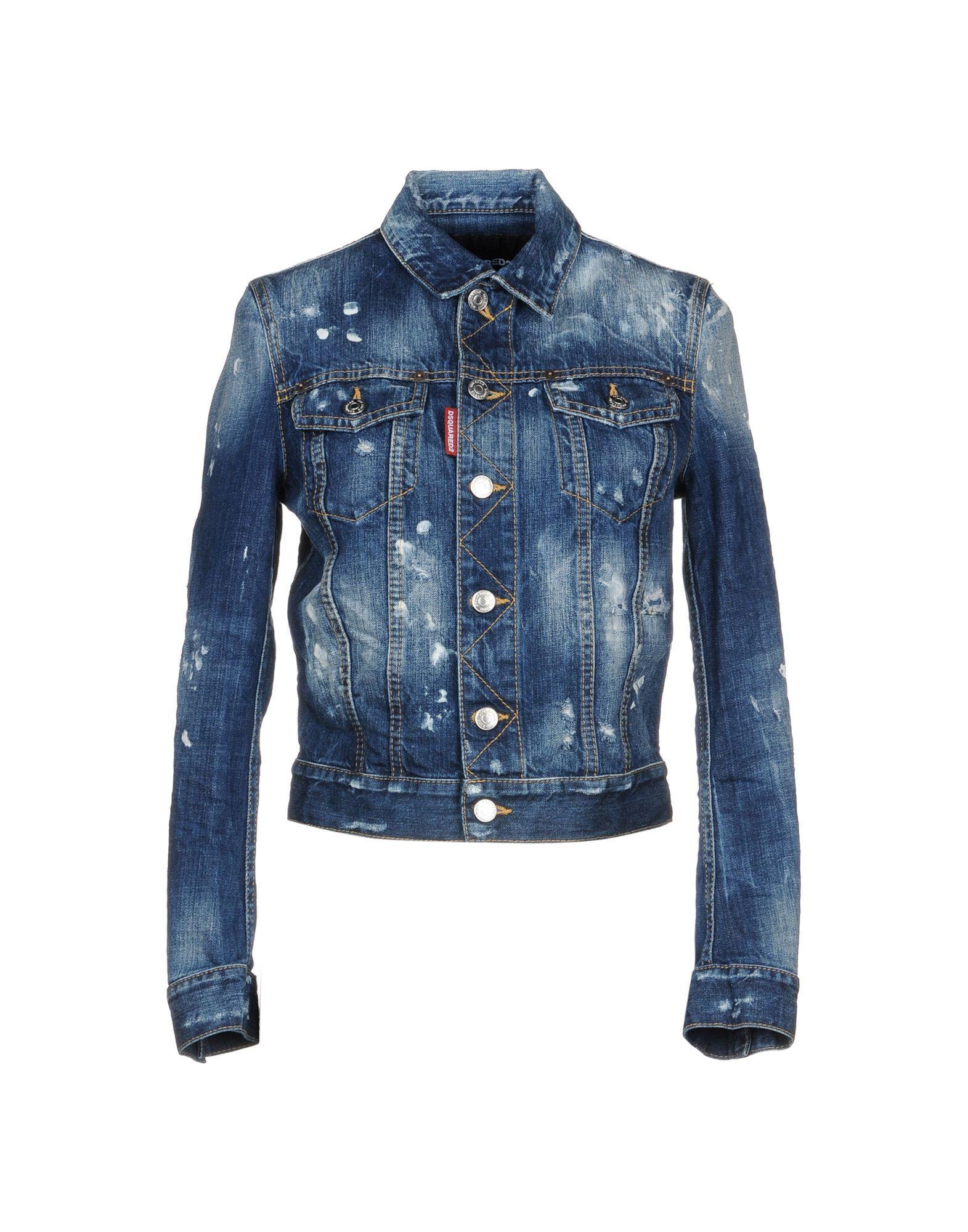 Dsquared2 Denim Outerwear In Blue