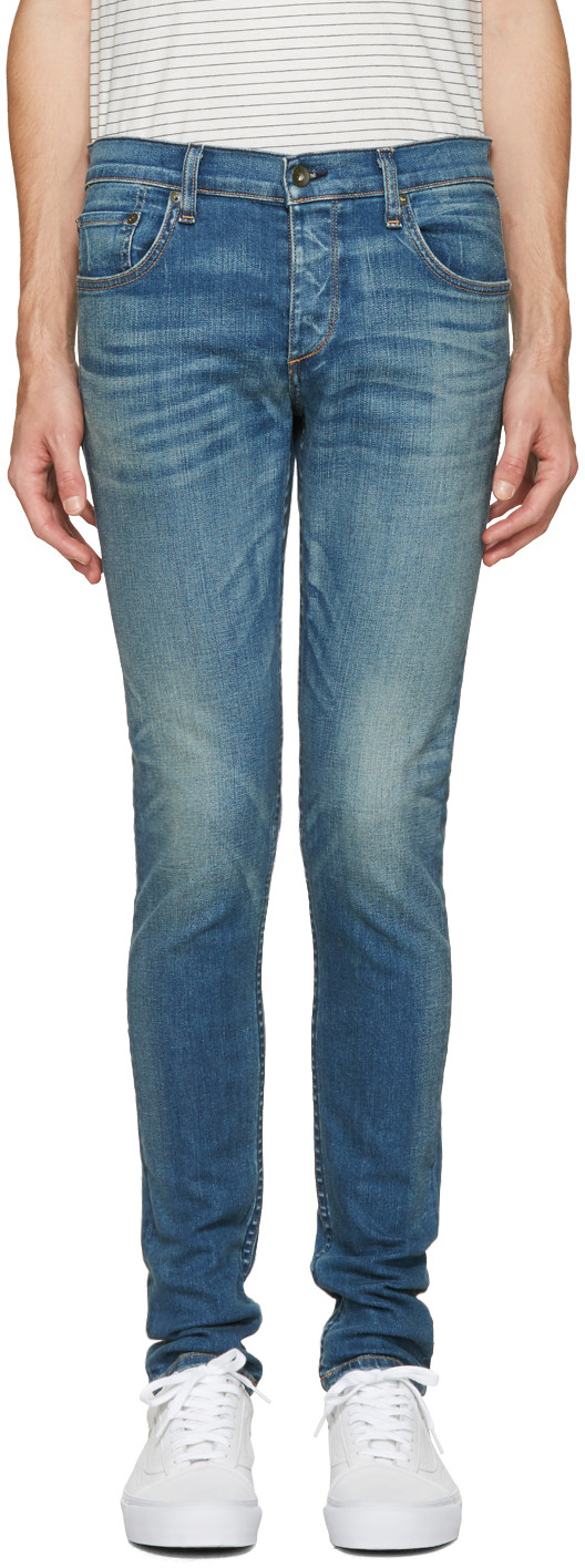 Rag & Bone Standard Issue 'fit 2' Slim Fit Jeans (west Village)