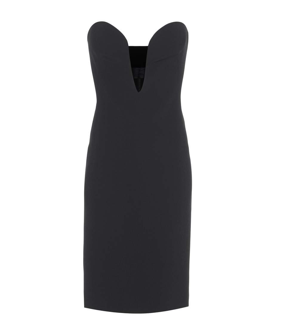 Tom Ford Strapless Dress In Black